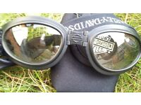 Harley Davidson collapsible goggles