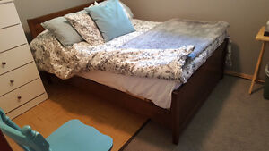 Bed frame for sale + matress included