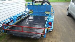 trailer 4x8 plate forme