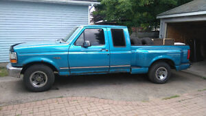 1995 Ford F-150 Flare Side Pickup Truck 5.0L 5 Speed Ext Cab