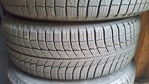 4 Michelin X Ice tires winter tires and rims