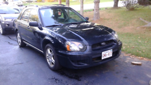 2005 Subaru Impreza 2.5L rs wagon for sale