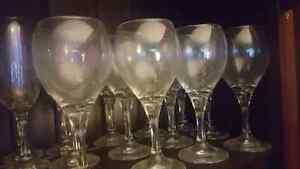 12 wine glasses Kitchener / Waterloo Kitchener Area image 1