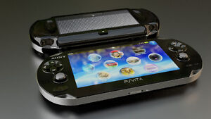 Je recherche un PSP ou un PS Vita avec jeux