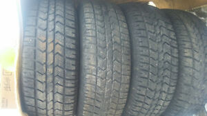 215/70R16 Winter Tires (80%thread)
