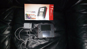 Nintendo 2DS In Box (Red/black) $60.00