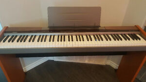 Casio 88 weighted key piano