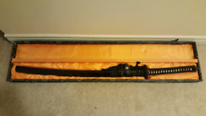 Decorative Samurai Sword -- $60 OBO