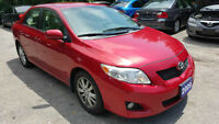 2009 Toyota Corolla LE LOADED *PUSH TO START/ALLOYS* LOW KM !
