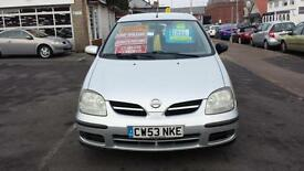 2004 NISSAN ALMERA TINO 1.8 S Automatic From GBP1,895 + Retail Package