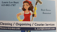 Do you require a CLEANER? If so, I am here to help you:)