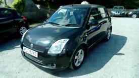07 Suzuki Swift Diesel 5 Door 64K MOT 18/01/22 FSH 2Keys Clean car
