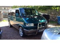 vw t4 multivan 1.9 TD bed and table OrginAL fro germany