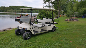 Gas Limo Golf Cart