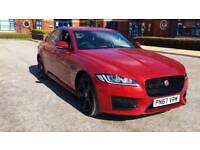 2017 Jaguar XF 2.0d (180) R-Sport with Gloss Automatic Diesel Saloon