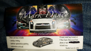 Car audio installation and more