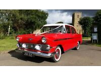 Classic British Vauxhall Victor F 1959 stunning red and white excellent condition