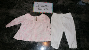 0-3 and 3 month clothes