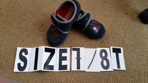 Shoes worn only inside  SIZE 7-8T  $5