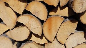 bois de chauffage semi-sec