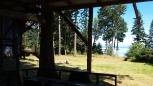 Waterfront Acreage 28' covered RV pad