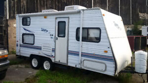 Lightweight Thor Tahoe trailer for sale
