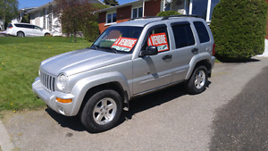 Liberty jeep 2002 97 000km