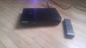 Samsung BlueRay Dvd Player with remote For sale