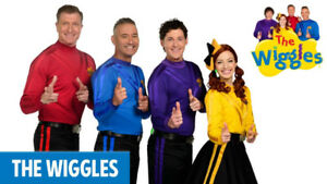 Wiggles 6 tickets all together