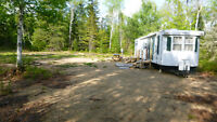 39 foot house trailer on 1 acre cleared lot!