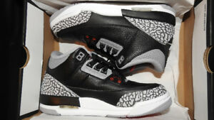 Jordan 3 Retro Black Cement Size 6
