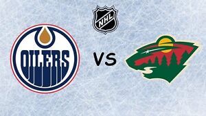 CHEAP TICKETS! OILERS vs. WILDS