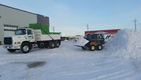 Snow Removal! Tandem Dump truck for hire!