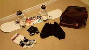 Women's complete snowboard package  (148cm)