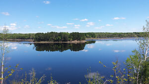 2 acres waterfront, Millerton, 173' on the SW Miramichi river