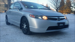 2008 Honda civic Great winter car for sale certified