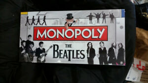 Beatles Collector's Edition ,The- Monopoly Board Game & Collecti