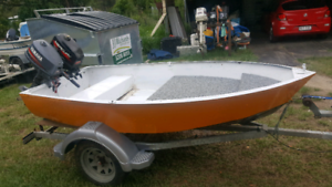 9ft tinny and trailer sold pending