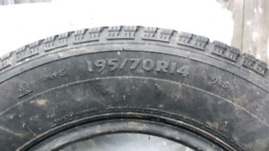 Pneus d'hiver/Winter tires Panthera President II