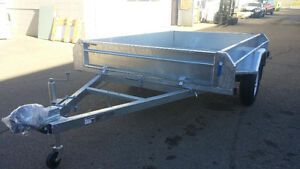 5x8 Galvanized Multifunctional Salter Utility Trailer on SALE!!!