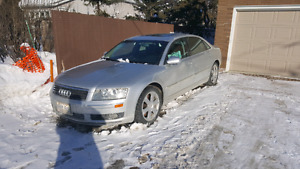 AUDI A8 L..... 2004 FULLY LOADED TO THE 9s