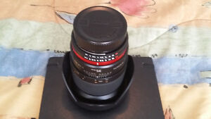 Rokinon 35 mm f/1.4 UMC Lens For Nikon With Automatic AE Chip wi Windsor Region Ontario image 1