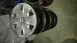 "BMW 300 Series 16"" Steel Rims w/ caps"