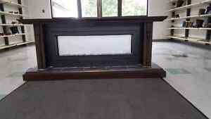 Beautiful custom made electric fireplace