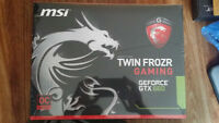 BRAND NEW MSI GeForce GTX 660 Gaming Edition 2GB 6GHZ 200$