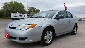2007 SATURN ION (Quad Coupe) - SAFETY CERTIFIED