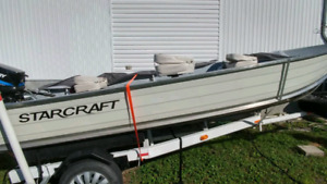 Chaloupe Starcraft 16' 25 Forces