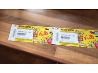 Weekend Camping V Festival Tickets Weston Park