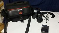 Sony a100 professional Camera & ALL accessories