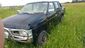1992 Nissan Hardbody 4 door 4x4 Pickup Truck